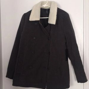 Grey coat NWT